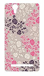 Go Hooked Designer Soft Back cover for Sony Xperia T2