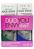 OPI Duo you Envy Me? Nail Envy Original 15ml + Nail Envy Matte 15ml