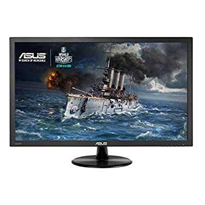 "ASUS VP228H 21.5"" Full HD 1920x1080 Wide Screen 16:9 Monitor with 1ms Quick Response Time & 1.5-Watt stereo speakers"