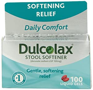 Amazon Com Dulcolax Stool Softener Laxative 100 Count