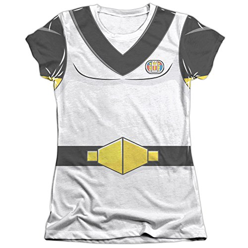 [Voltron Sven Costume Juniors Sublimation Shirt White 2X] (Sven Costume For Boys)