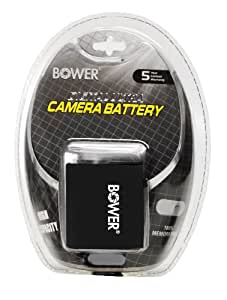 Bower XPDPG10 Digital Camera Battery Replaces Panasonic DMW-BCG10