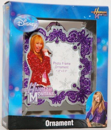 Disney Hannah Montana Photo Frame Ornament