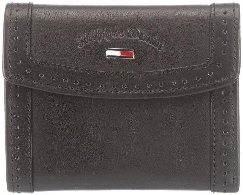 Hilfiger Denim VAYA SMALL TRIFOLD WALLET Wallets Womens Black Schwarz (BLACK 990) Size: 13x11x4 cm (B x H x T)
