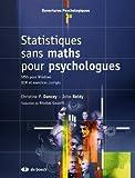 Statistiques sans maths pour psychologues : SPSS pour Windows QCM et exercices corrigés