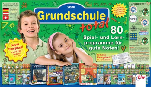Grundschule total 2008 (Klappbox). Für Windows Vista/XP/2000/Me