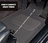 Smart Roadster (2003 to 2006) Grey Car Mats + Grey Trim