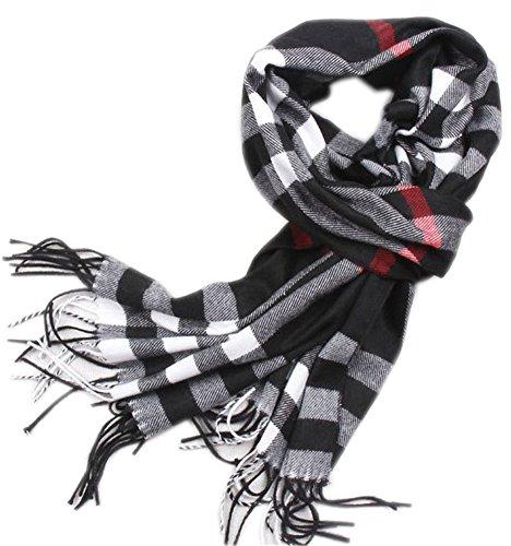 HyTan Change New Fashion Knitted Warm Men Scarf Fall/winter Wrap Muti-color Stripes