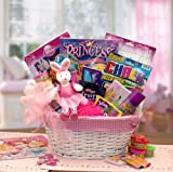 Disney Activity and Snack Gift Basket for Girls