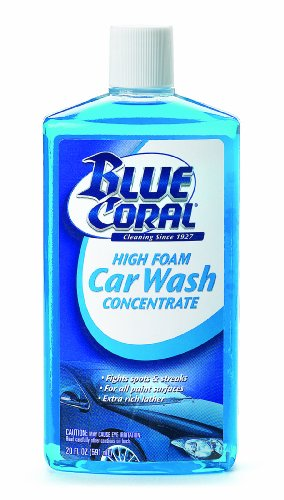Blue Coral 220064 High Foam Car Wash Concentrate, 20 oz. (Blue Coral Car Wash And Wax compare prices)