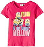 Despicable Me SS T-SHIRT - Camiseta para niñas, color pink - rose (fuxia), talla 3 años/98