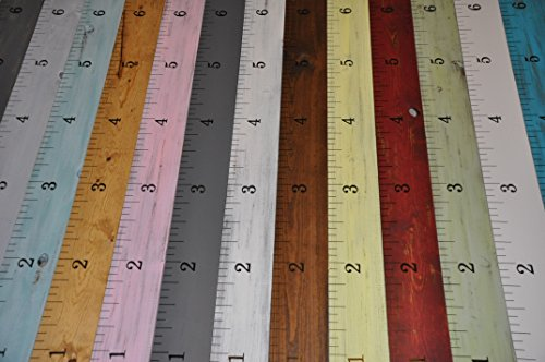 6000 Sold! **20+ Styles** Wooden Growth Charts Life-size growth chart rulers for measuring kids' height! (Large Ruler Growth Chart compare prices)