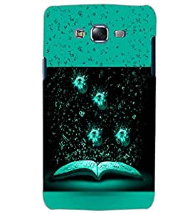 PrintDhaba BOOK PATTERN D-6295 Back Case Cover for SAMSUNG GALAXY ON5 (Multi-Coloured)