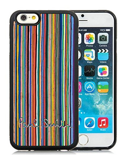 iPhone 6 4.7 Inch TPU Case ,Unique And Fashionable Designed Case With Paul Smith 12 Black For iPhone 6 Cover Phone Case