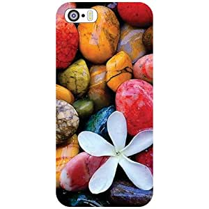 Apple iPhone 5S Back cover - Artistic Stones Designer cases