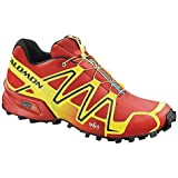 Salomon Mens Speedcross 3 Canary Yellow/Bright Red/Black 14 M US