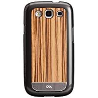 Case-Mate Wood CM021210 Case For Samsung Galaxy S3 (Zebrawood)