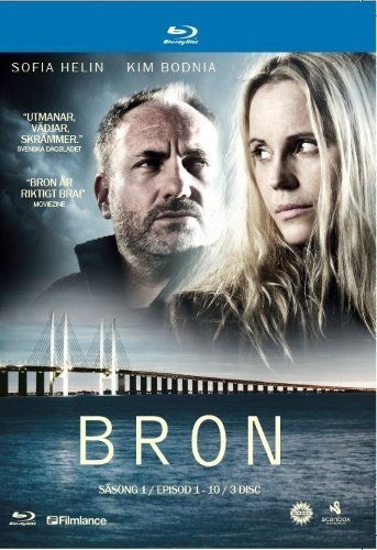 The Bridge - Season 1 (Ep. 1-10) - 3-Disc Box Set ( Bron (Broen) ) ( The Bridge - Season One - Episodes One to Ten ) [ Origen Sueco, Ningun Idioma Espanol ] (Blu-Ray)