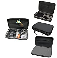 LARGE Size Shockproof Protective Travel Carry Case Bag For GoPro Hero 2 3 3+ 4 Session Accessories by MaximalPower