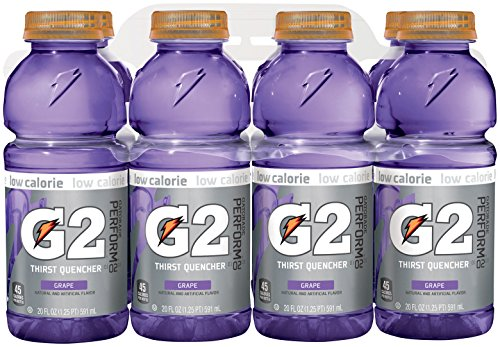 Gatorade G2, Grape, 8 Pack, 20 oz each (Fruit Punch G2 Gatorade compare prices)