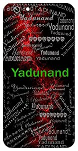 Yadunand (Lord Krishna) Name & Sign Printed All over customize & Personalized!! Protective back cover for your Smart Phone : Samsung Galaxy S5 / G900I