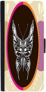 Snoogg abstract art001Designer Protective Flip Case Cover For One Plus One