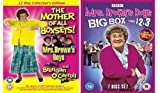 Mrs Brown's Boys / Brendan O'Carroll Complete BBC Series 1,2,3, & The 3 Christmas Specials (7 Disc Set) Plus Mrs Brown's Boys Original 8 Disc RTE Series & Brendan O'Carroll's Stand Up Collection (19 Disc Set)