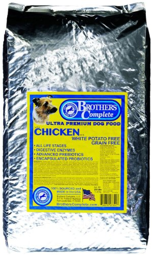 Brothers Complete Chicken Meal and Egg Formula, 25-Pound (Brothers Allergy Dog Food compare prices)