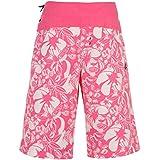 Ocean Pacific Womens Pacific Bahamas Long Shorts Elasticated Printed Swimwear
