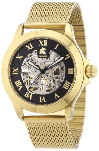 Carucci Watches Men's Watch  CA2179ST-GD