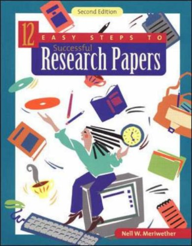steps to write a research paper