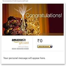 Congratulation (Sehra) - E-mail Amazon.in Gift Card