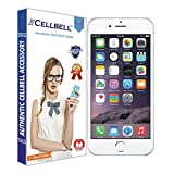 #10: Cellbell BTMBAG1003 3D Premium Tempered Glass Screen Protector for Apple Iphone 6 6s (4.7 inch ONLY)Complimentary Prep cloth