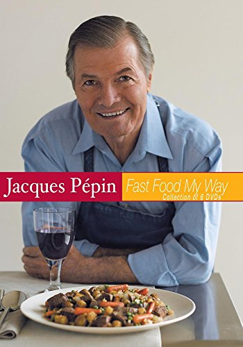 Jacques Pepin Fast Food My Way Set of 6 (Jacques Pepin Fast Food My Way compare prices)