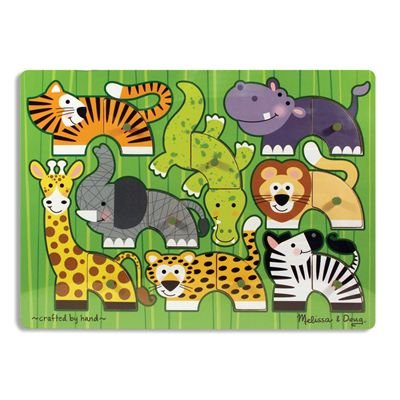 Zoo Mix 'N Match Peg Puzzle By Melissa & Doug front-346864