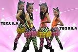 team TEQUILA kids 編上スニーカーダンスブーツ 総ラメ&ブラックエナメルライン 子供靴 (21)
