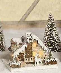 Bethany Lowe Medium Woodland Cottage, Deer