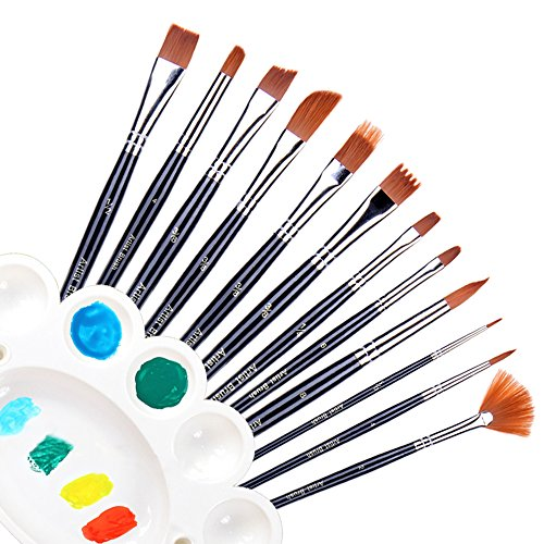 ohuhu-12pcs-nylon-hair-art-paint-brush-set-for-watercolor-acrylics-oil-painting-supplies-bonus-a-col