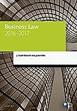 Business Law 2016-2017 (Legal Practice Course Manuals)