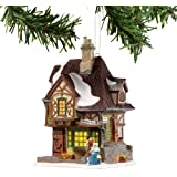 Dickens A Christmas Carol Village from Department 56 Melancholy Tavern, Mini