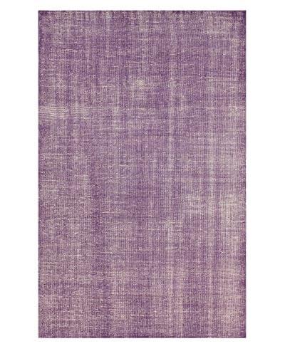 nuLOOM Lex Hand-Knotted Rug, Purple, 4' x 6'