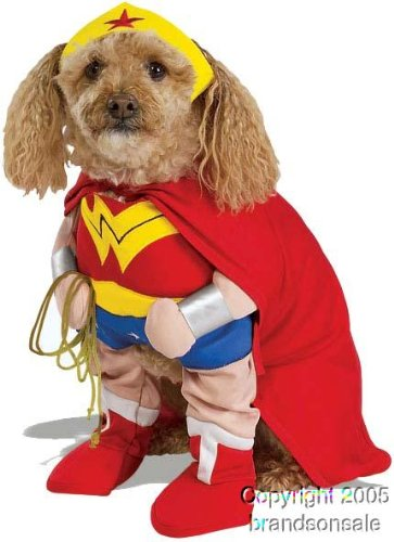 Pet Wonder Woman Dog Costume For X-large Dogs