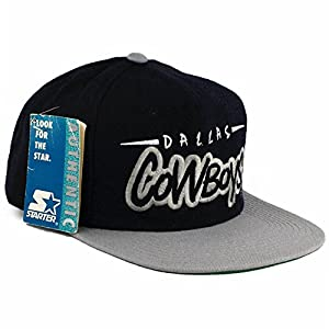 Starter Vintage Dallas Cowboys Snapback Hat by Starter