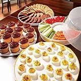 5 Piece Party Store & Serve Snack Set