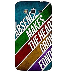SAMSUNG GALAXY GRAND 2 TEXT Back Cover by PRINTSWAG