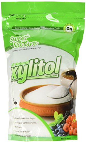 Sweet Nature Kosher All Natural Low Carb Xylitol 1Lb Sweetner