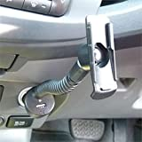Powered Car Lighter Charging Arm for Garmin Garmin Oregon 200 300 400t 450 450t 550 550t 600 600t 650 650t.