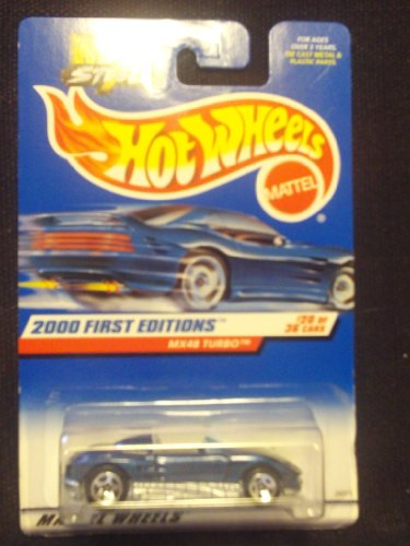 Hot Wheels 2000 First Editions 20/36 MX48 Turbo 5sp - 1