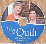 img - for Learn to Quilt with Marianne & Mary Fons DVD book / textbook / text book