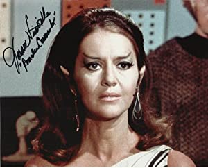 Star Trek OS Joanne Linville Romulan Commander hand-signed 8 x 10 photo C of A